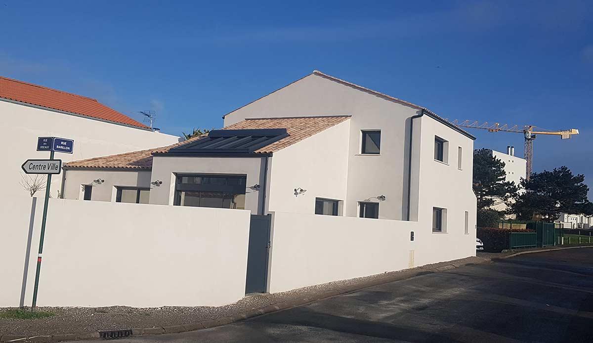 maison contemporaine Herberteau
