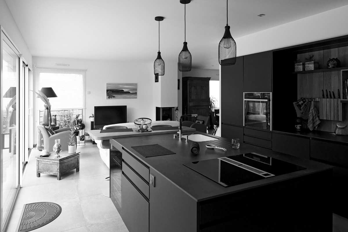 intérieure maison moderne