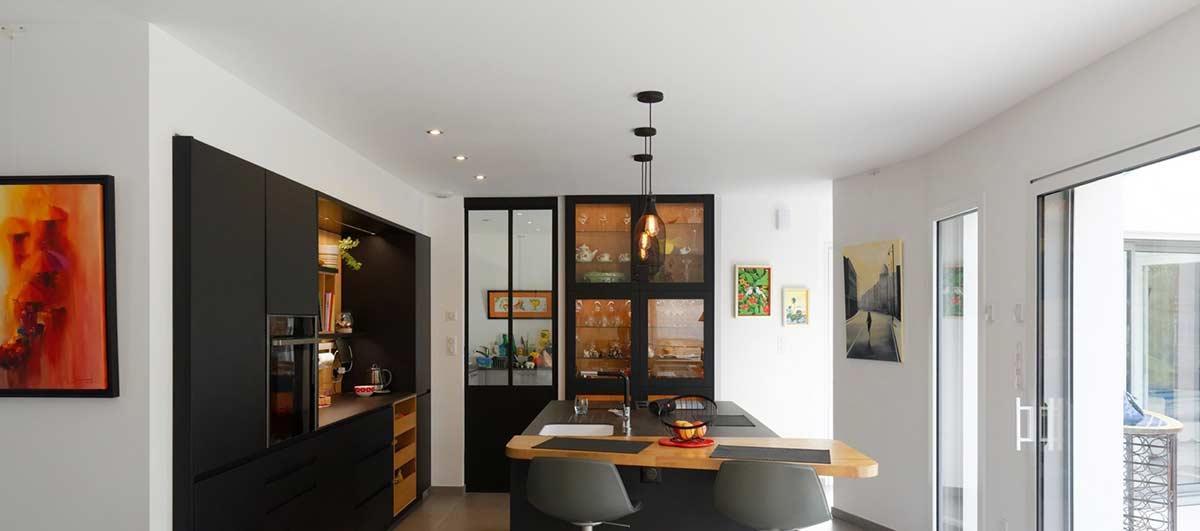 interieur modele maison moderne