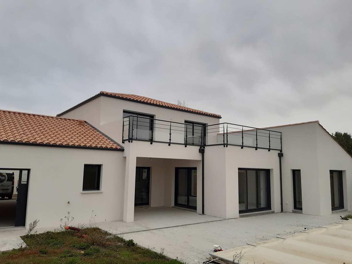 Construction maison moderne 12