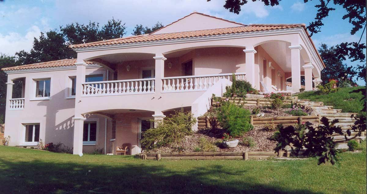 Maison traditionnelle Herbreteau Construction 25