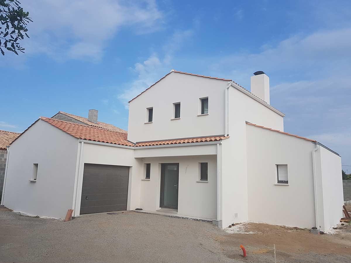 Maison traditionnelle Herbreteau Construction 34