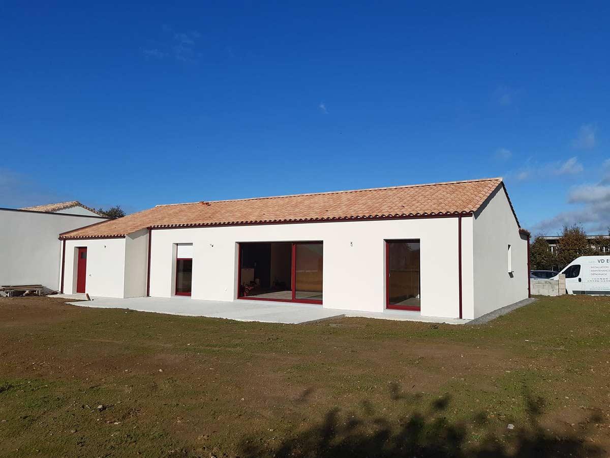 Maison traditionnelle Herbreteau Construction 38