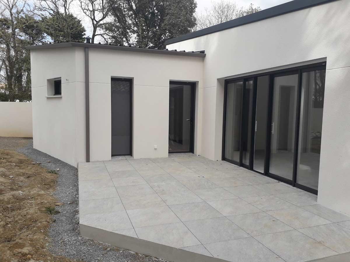 Construction maison moderne 3