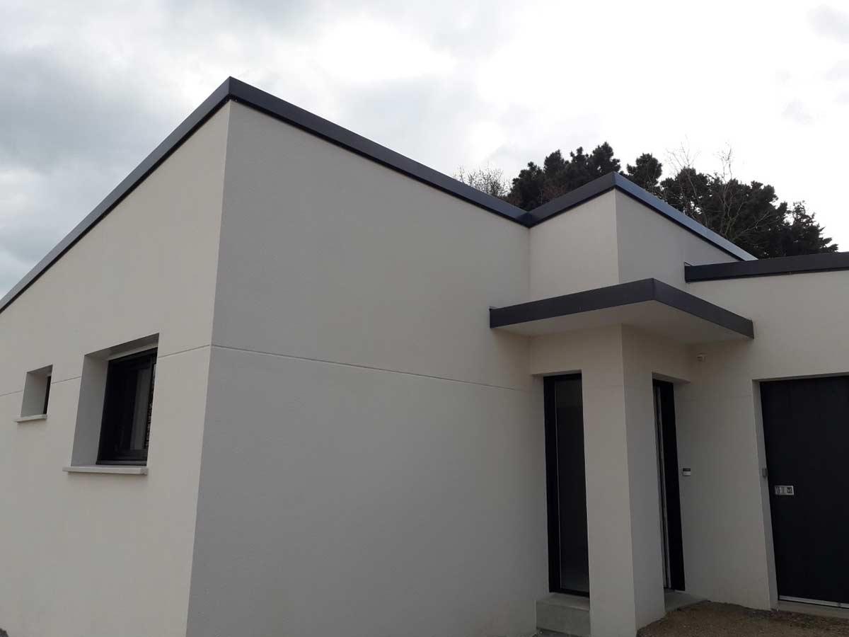 Construction maison moderne 2