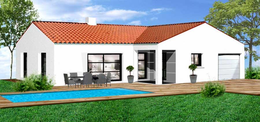 Plans de maison herbreteau construction vend e - Plan d agrandissement de maison ...