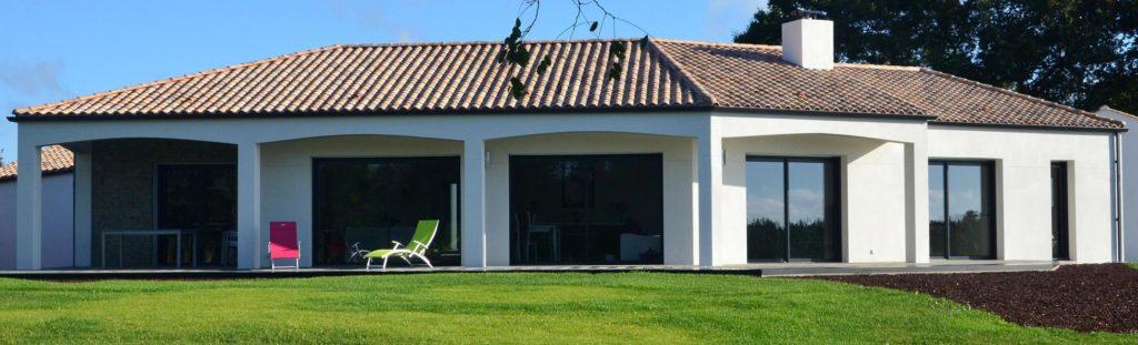 voilà à quoi ressemble une jolie maison contemporaine en Vendée
