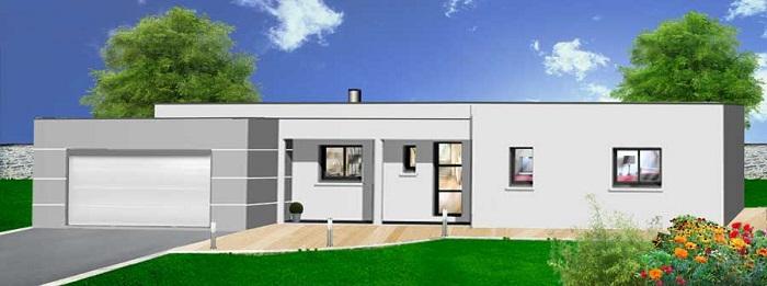 Maison individuelle construite par Herbreteau constructeur