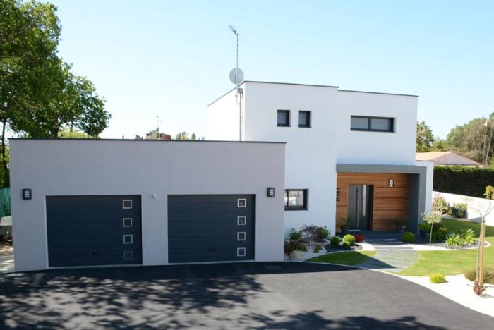 Herbreteau constructeur maison contemporaine