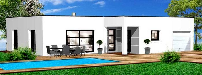 Constructeur maison contemporaine constructions Herbreteau