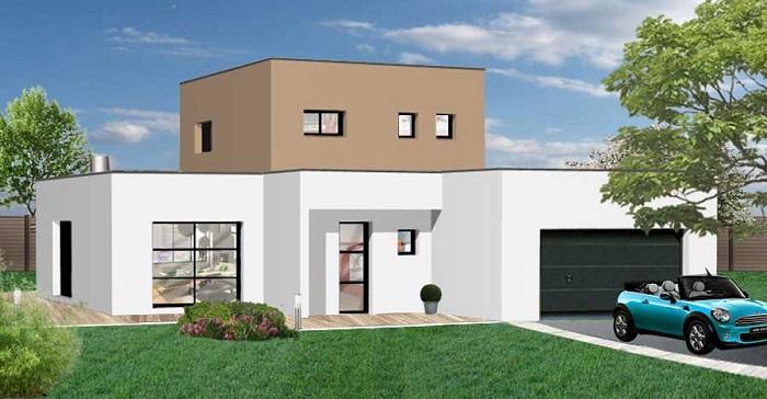 Constructions Herbreteau Constructeur maison contemporaine près de Le Girouard