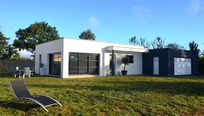 projet de maison La Roche Sur Yon par le constructeur Herbreteau