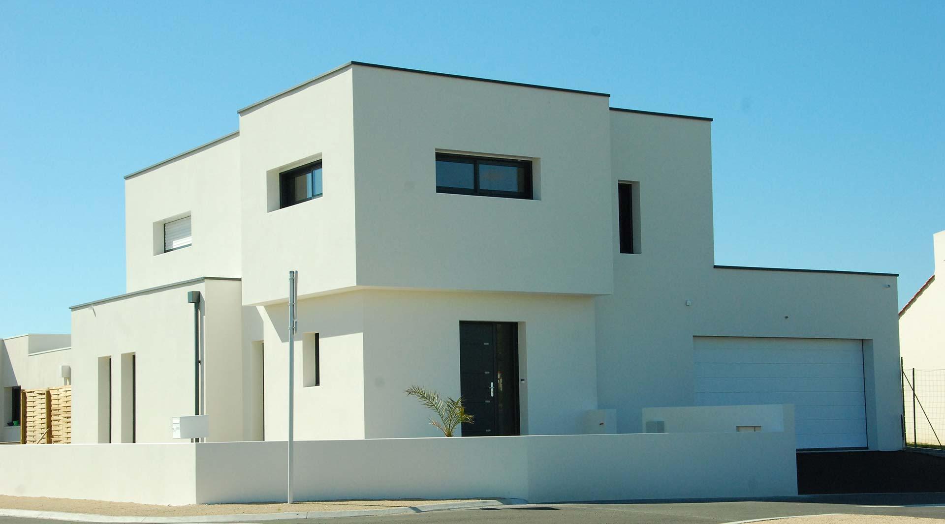 construction maison contemporaine Vendée