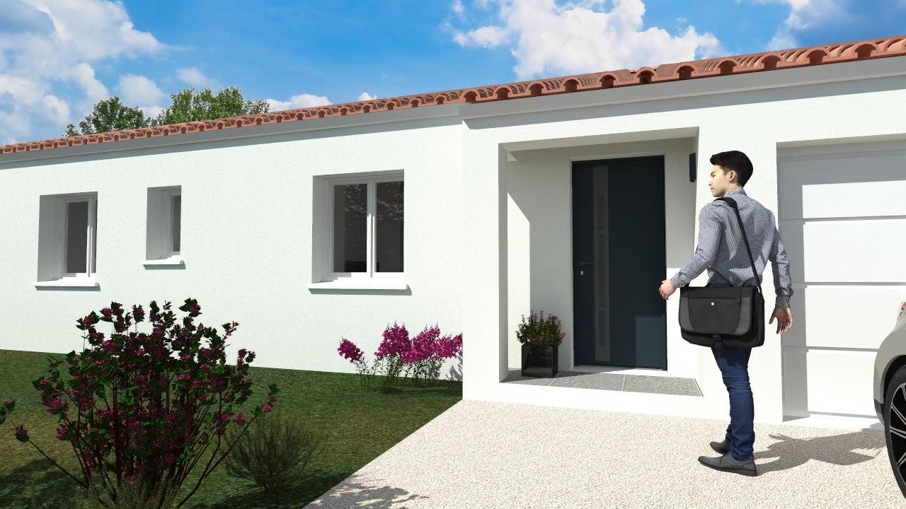 Maison + Terrain Olonne Sur Mer